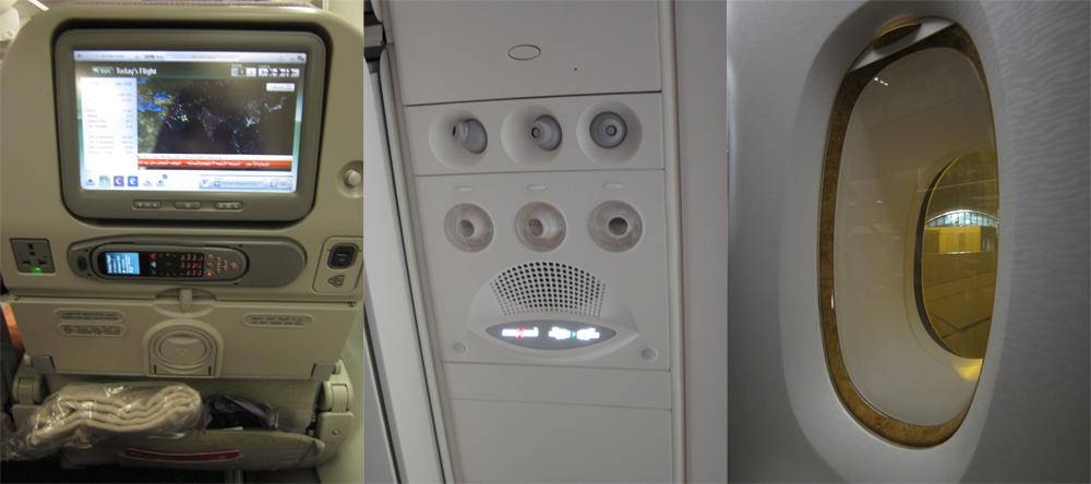 Оборудование салона самолета Эрбас А-380