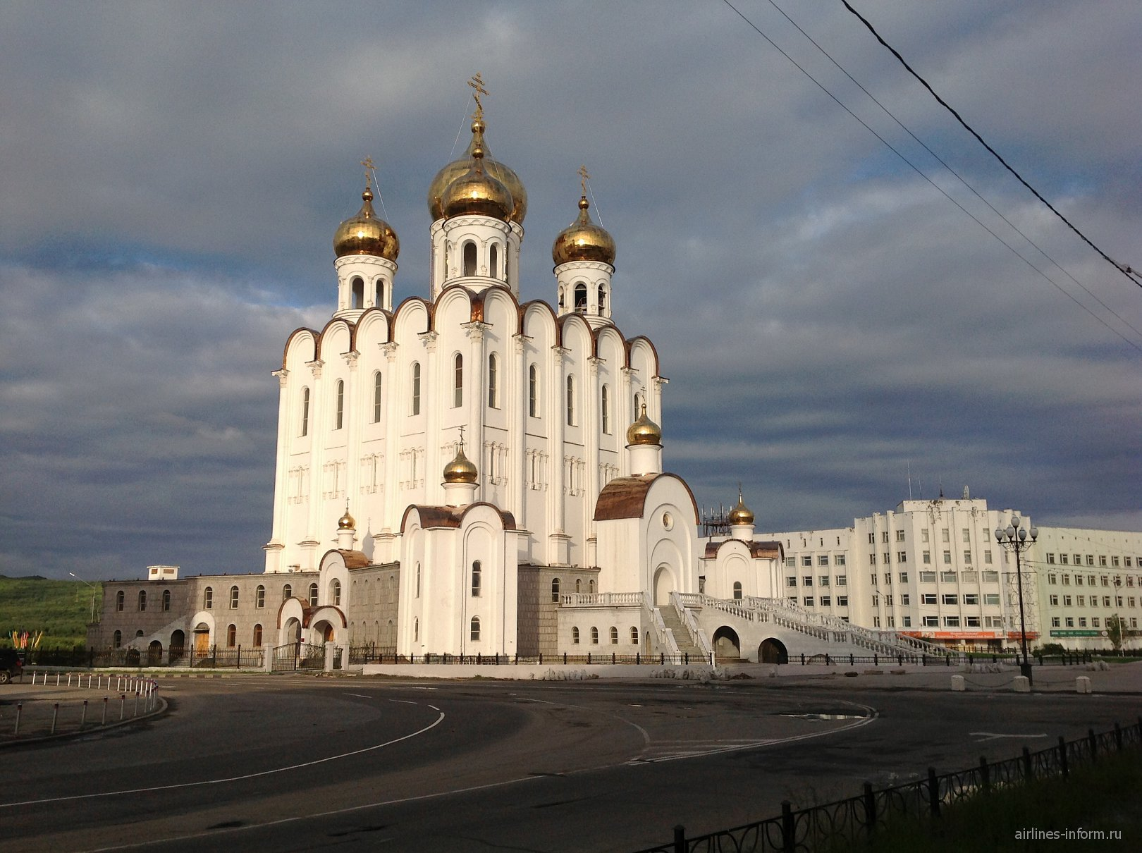 Церковь в Магадане