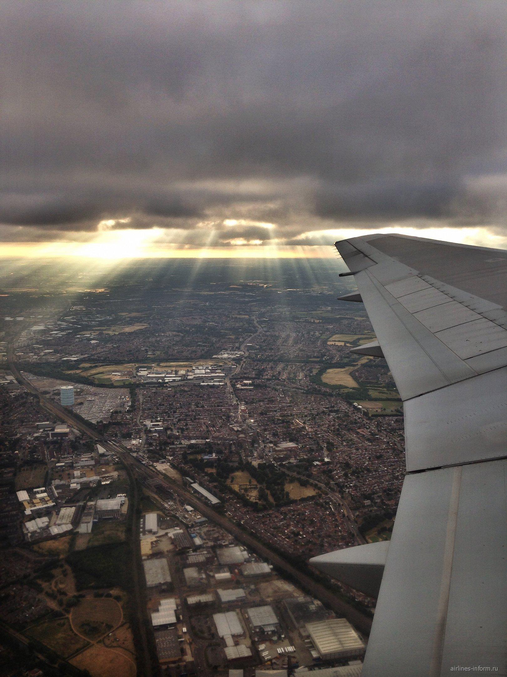 Взлет над Лондоном