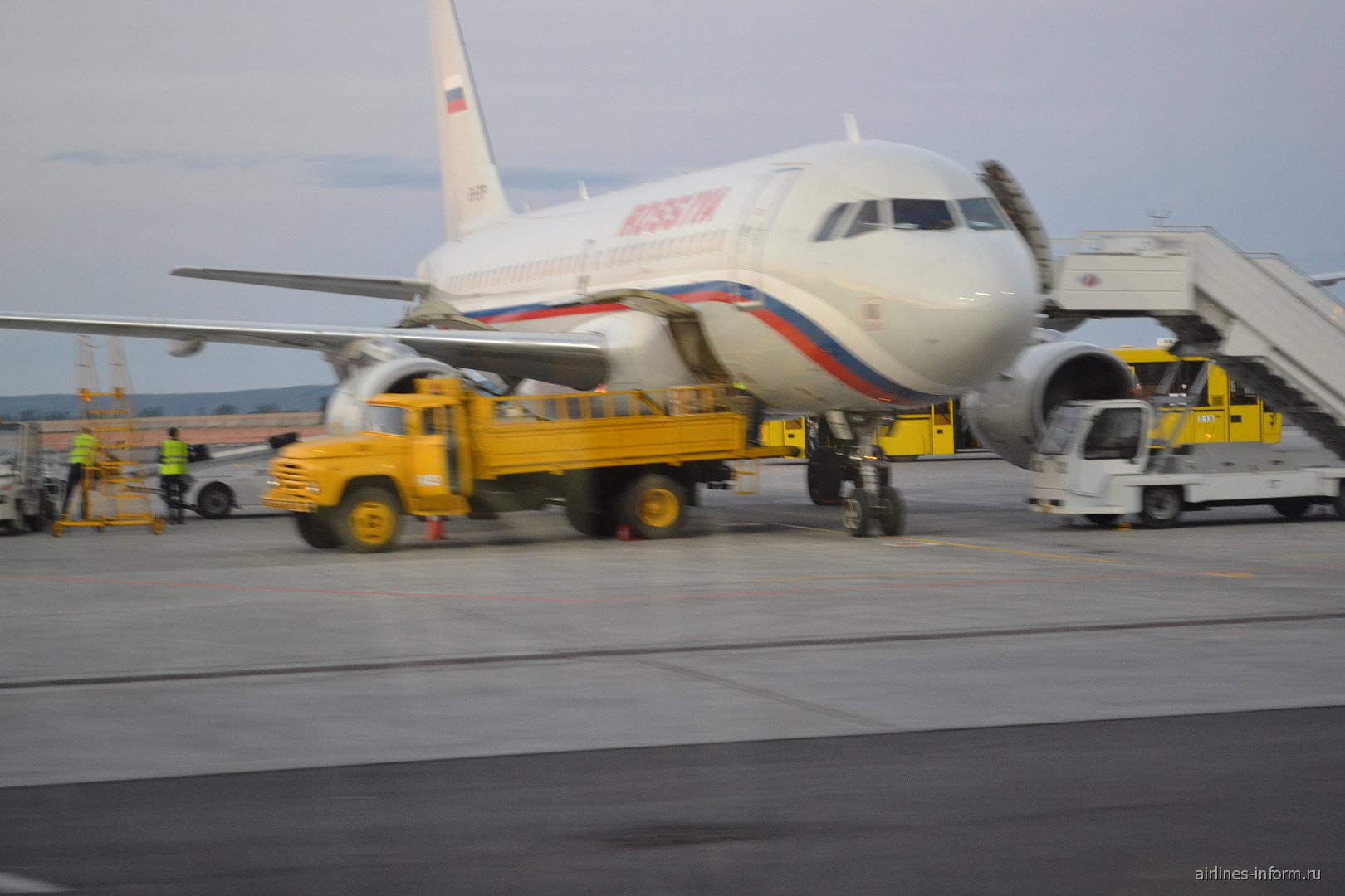 Рейс SU6753 Санкт-Петербург(LED) - Самара(KUF)