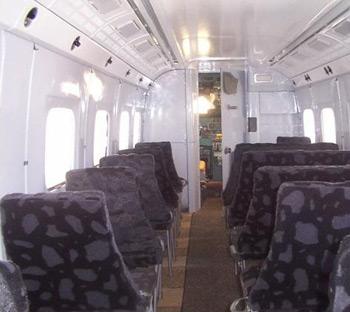 Cabin of Antonov An-28