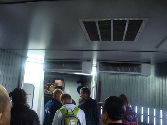 Посадка на рейс Астана-Алматы