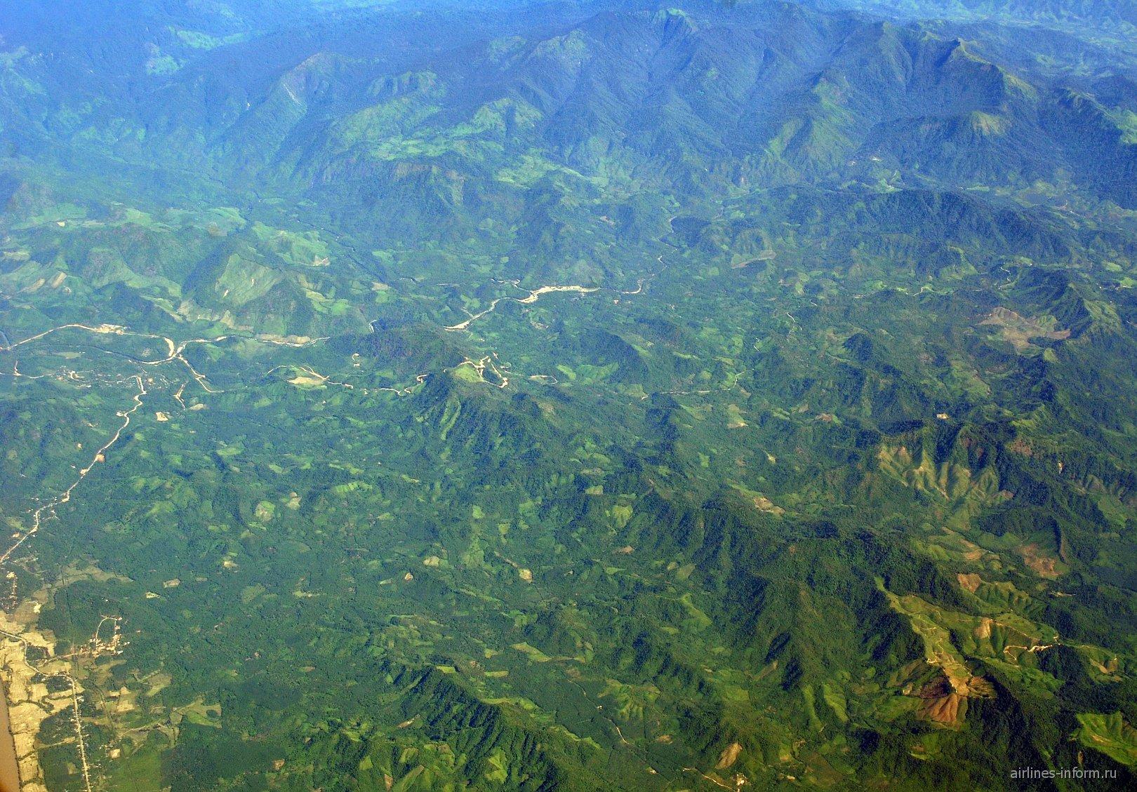 Горы Мьянмы
