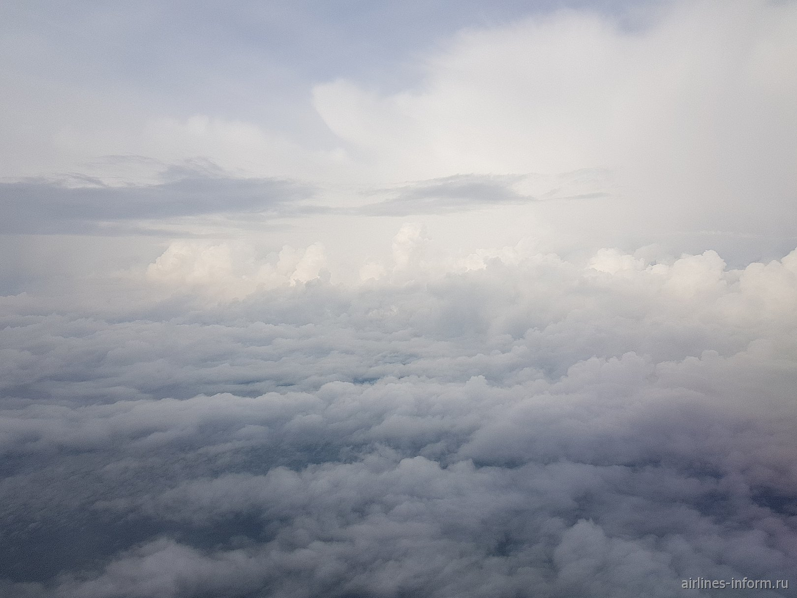Дождевые облака над Якутией