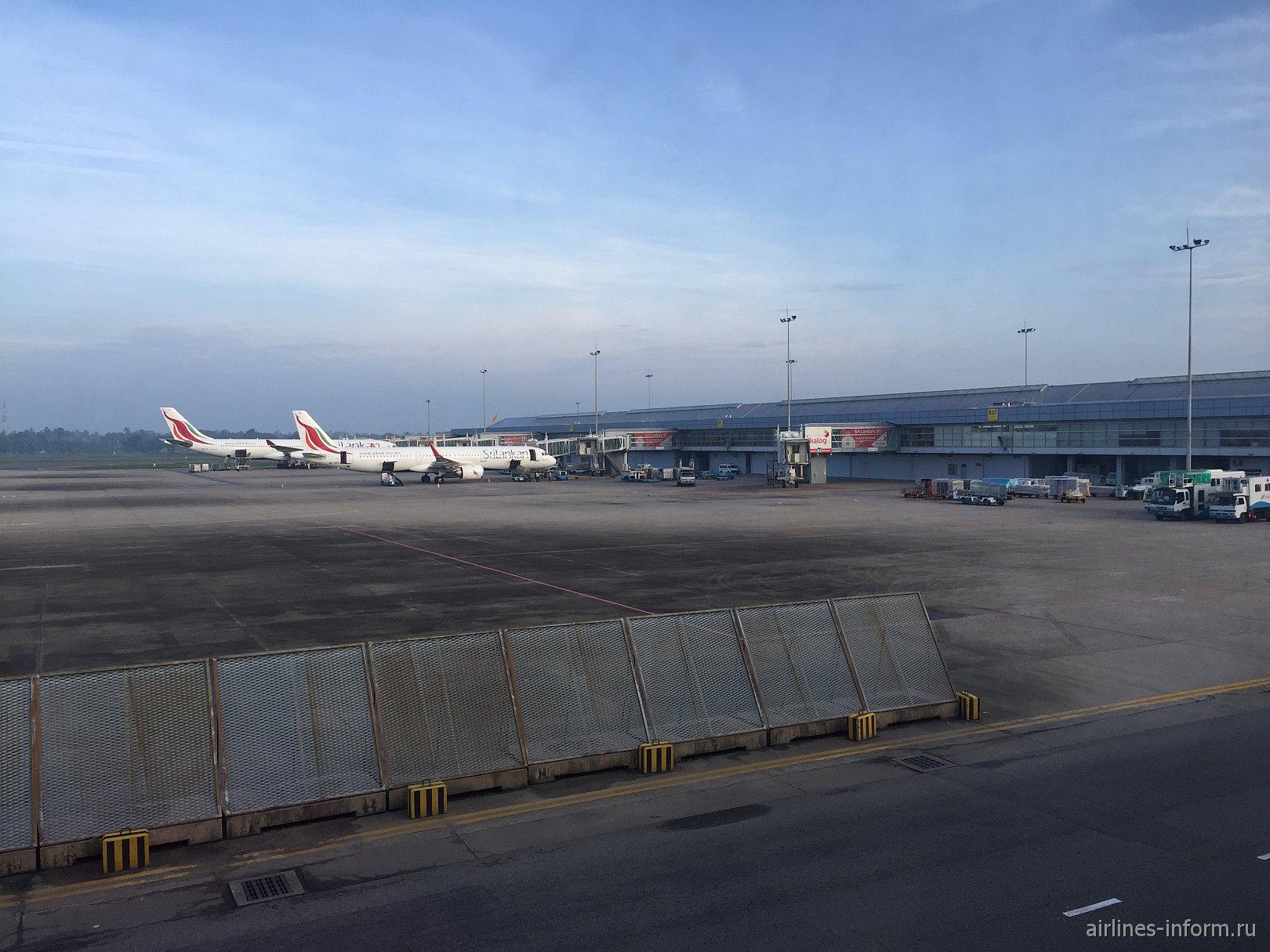 Перрон аэропорта Коломбо Бандаранайке