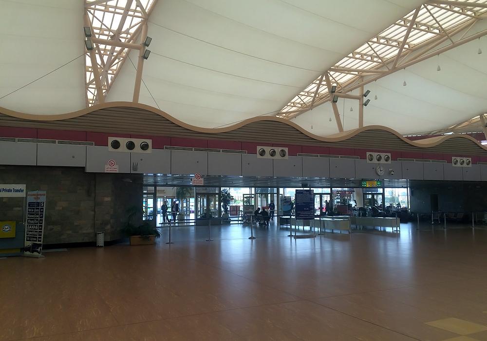 Зона прилета в международном терминале аэропорта Шарм-Эль-Шейх