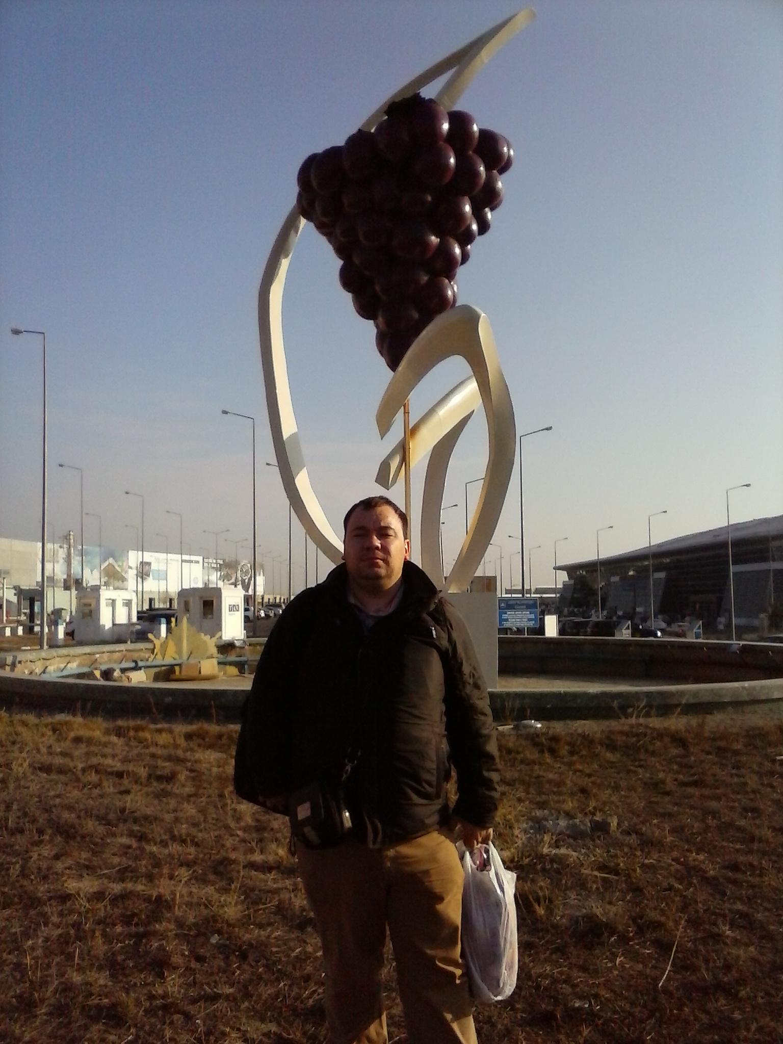 около аэропорта Тбилиси