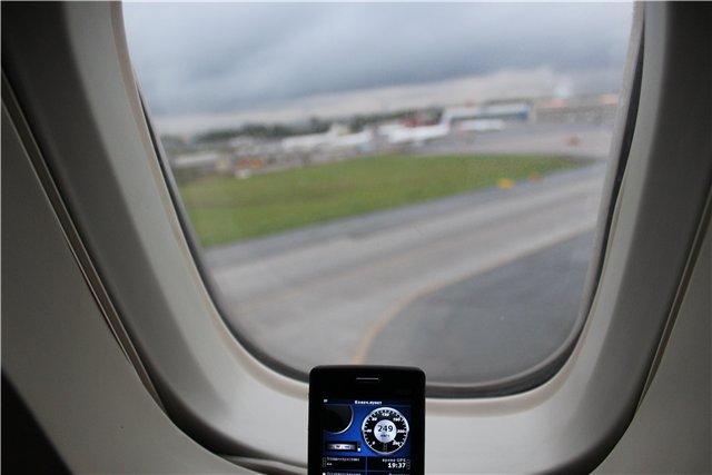 Рейс Анталья-Санкт-Петербург авиакомпании Трансаэро