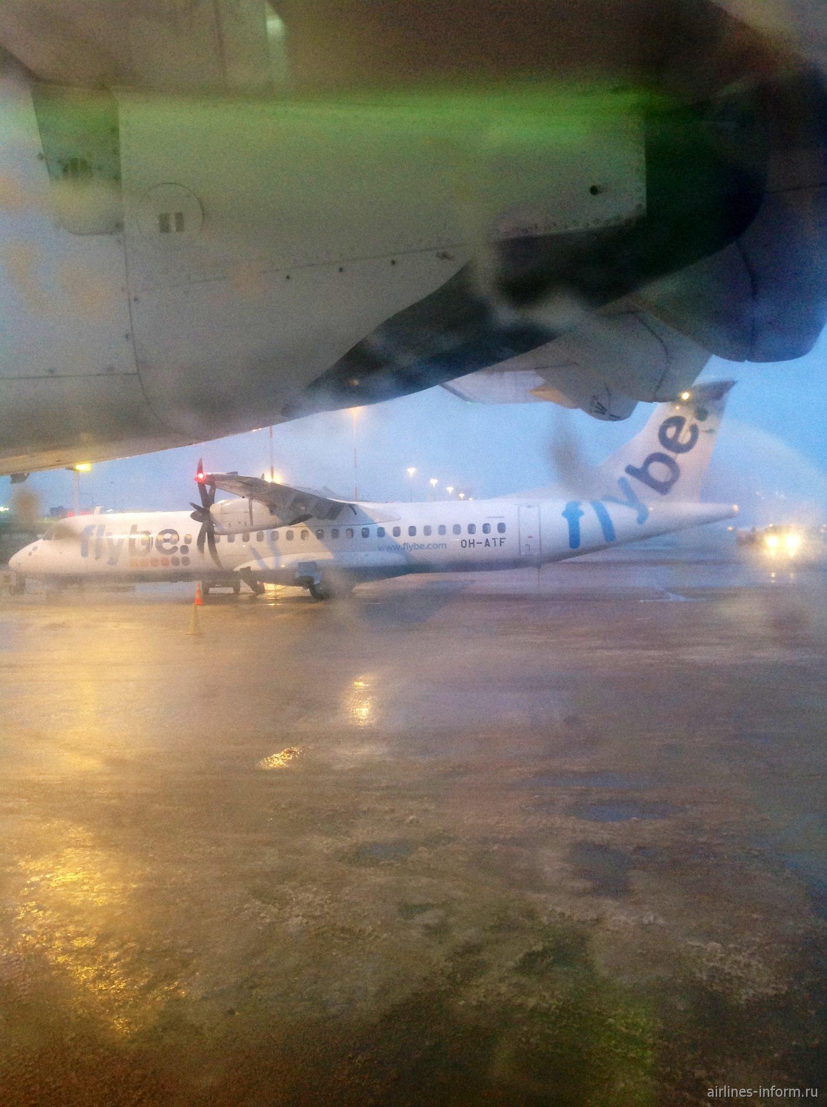 Рейс Каяни-Хельсинки авиакомпании Flybe Nordic