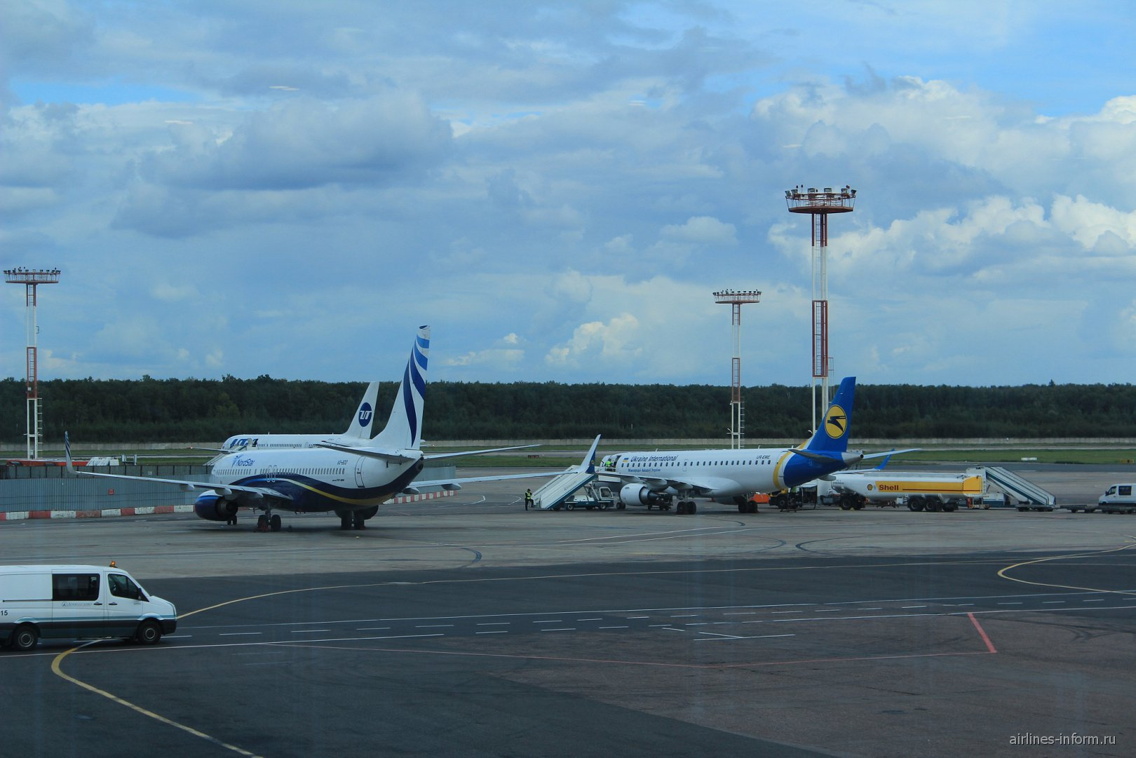 В аэропорту Домодедово