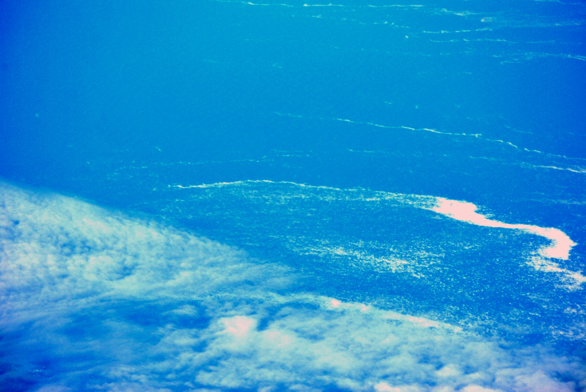Облака над Охотским морем
