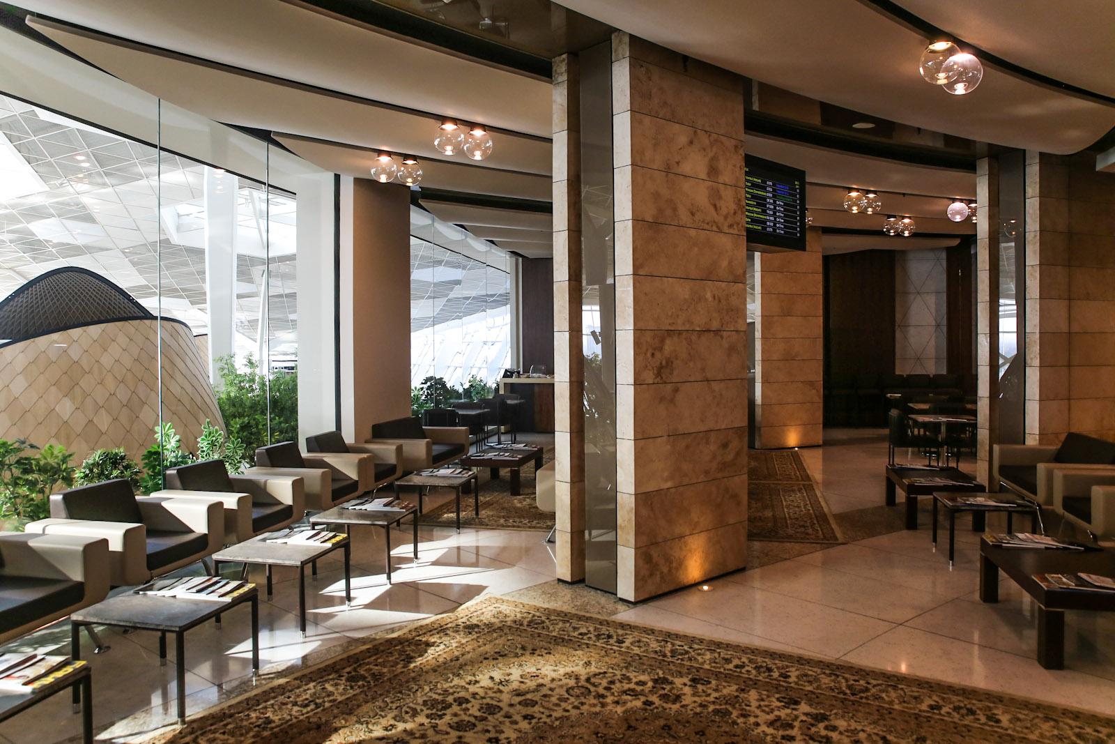 Бизнес-зал в терминале 1 аэропорта Баку