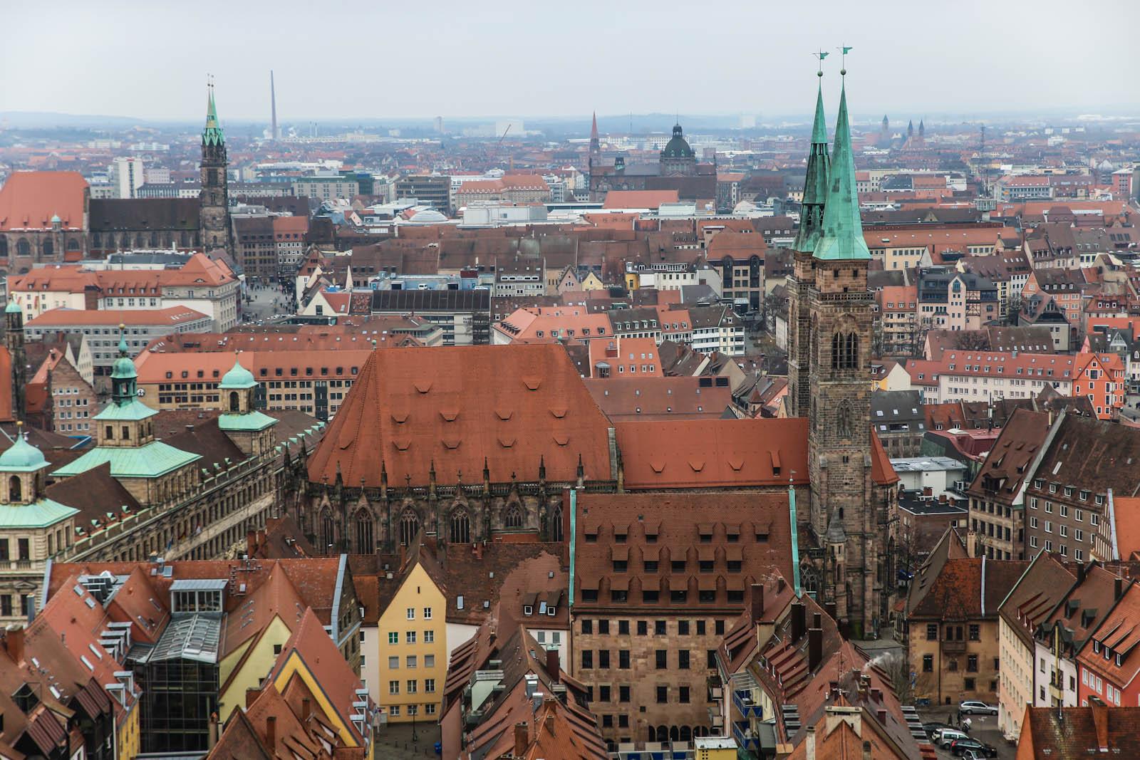 Центр города Нюрнберг