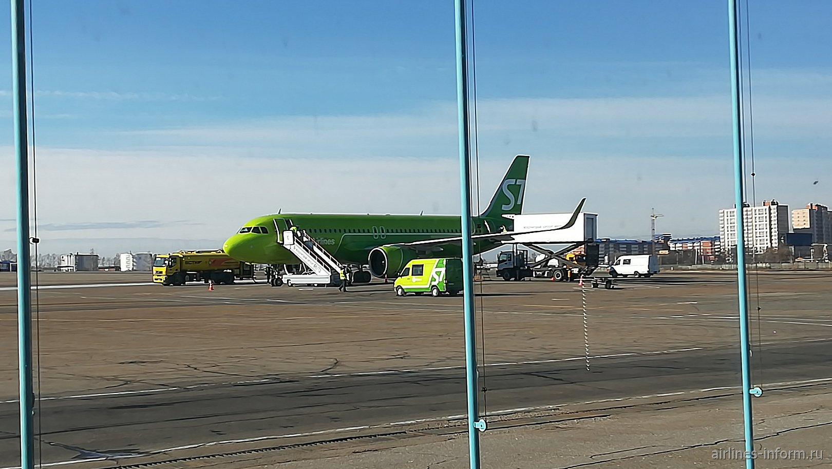 Весенние каникулы. Часть 1. Иркутск (IKT) - Бангкок (Suvarnabhumi, BKK) с S7 Airlines на А-320neo