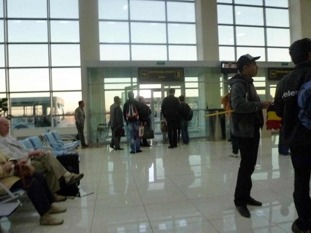 Зал ожидания аэропорта Ташкент Южный