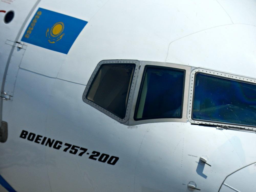 Боинг-757 авиакомпании SCAT