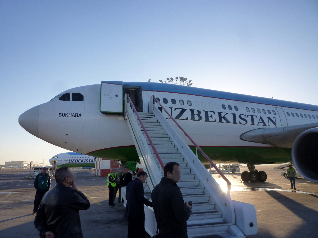 Airbus A310-300 Узбекских авиалиний