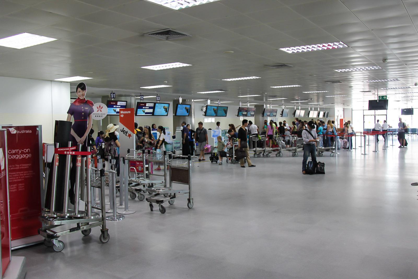 Внутри Терминала 2 аэропорта Пхукет