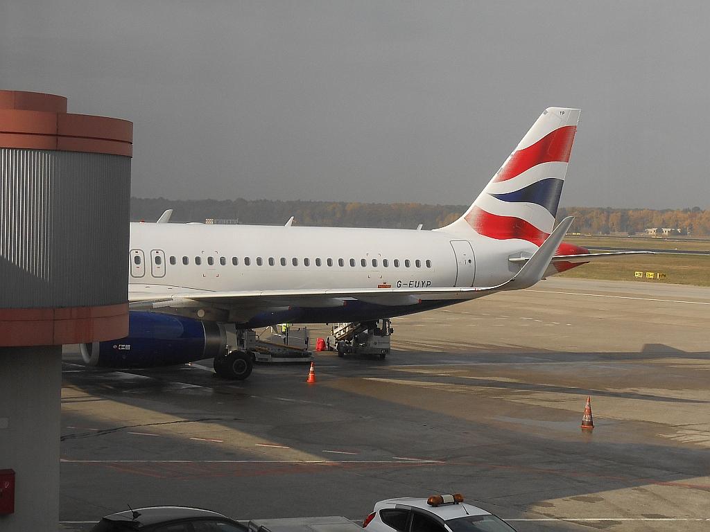Полет в Лондон с OneWorld. Часть 2 - Берлин - Лондон с British Airways