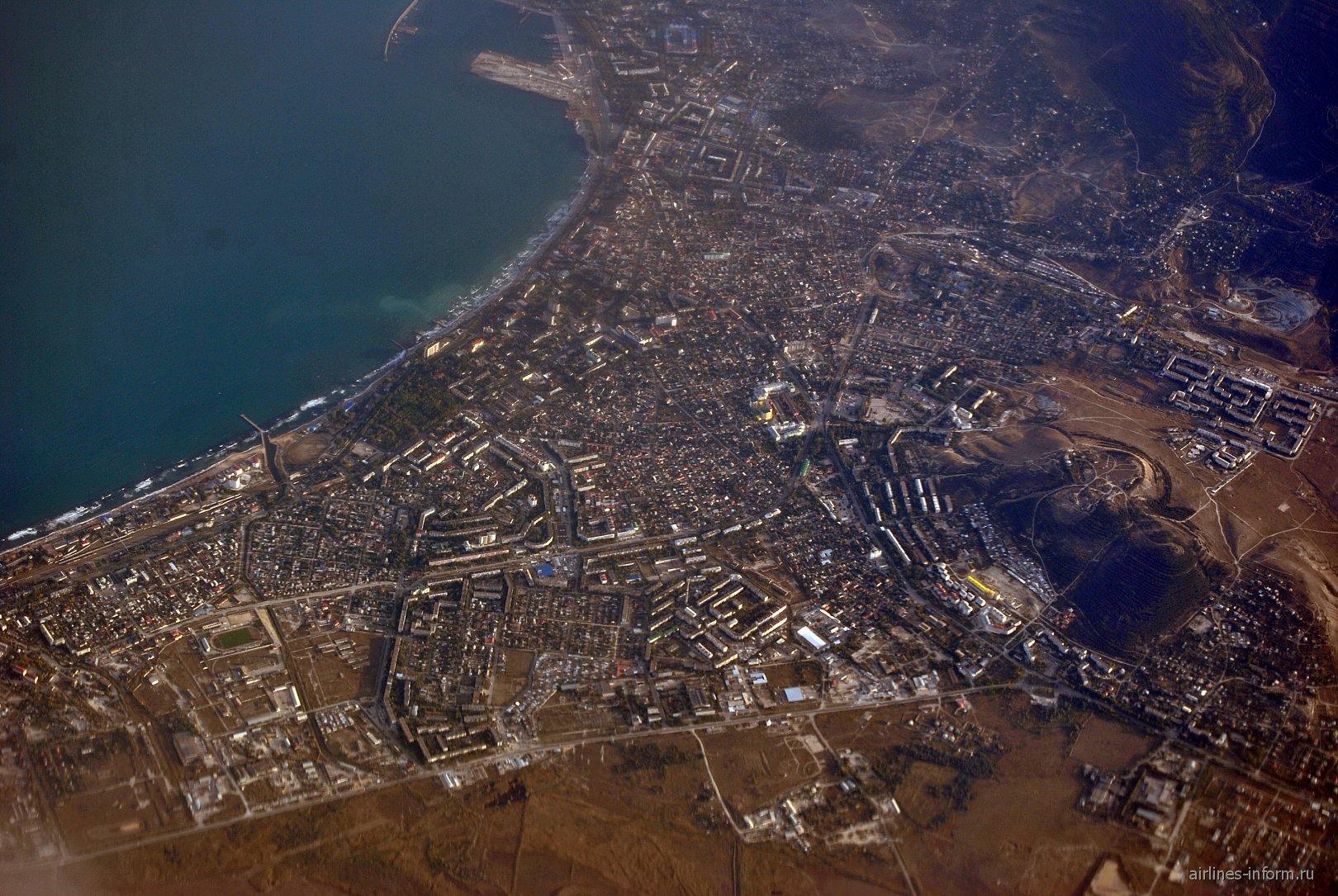 Город Феодосия в Крыму