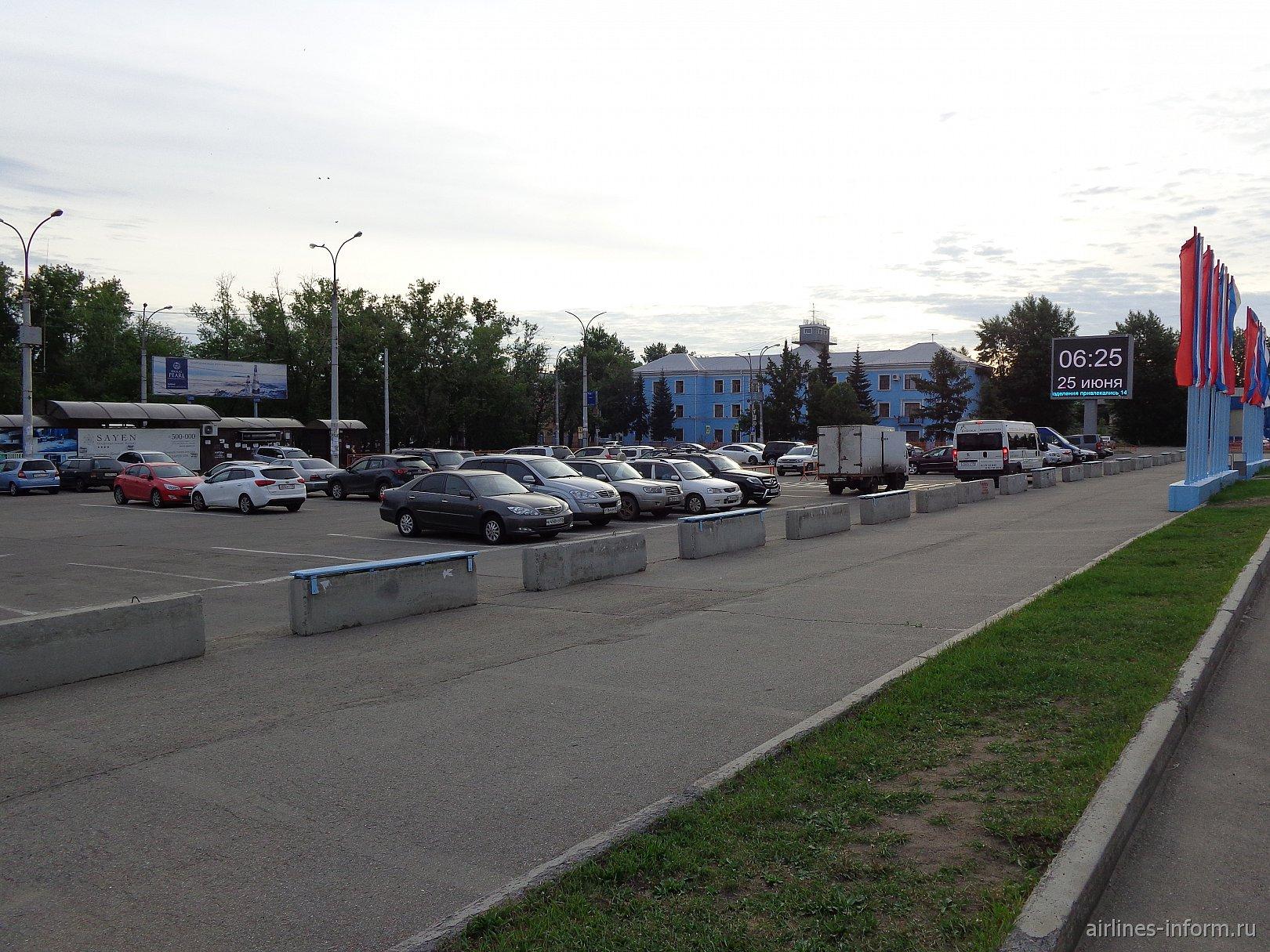 Парковка у термина международных линий