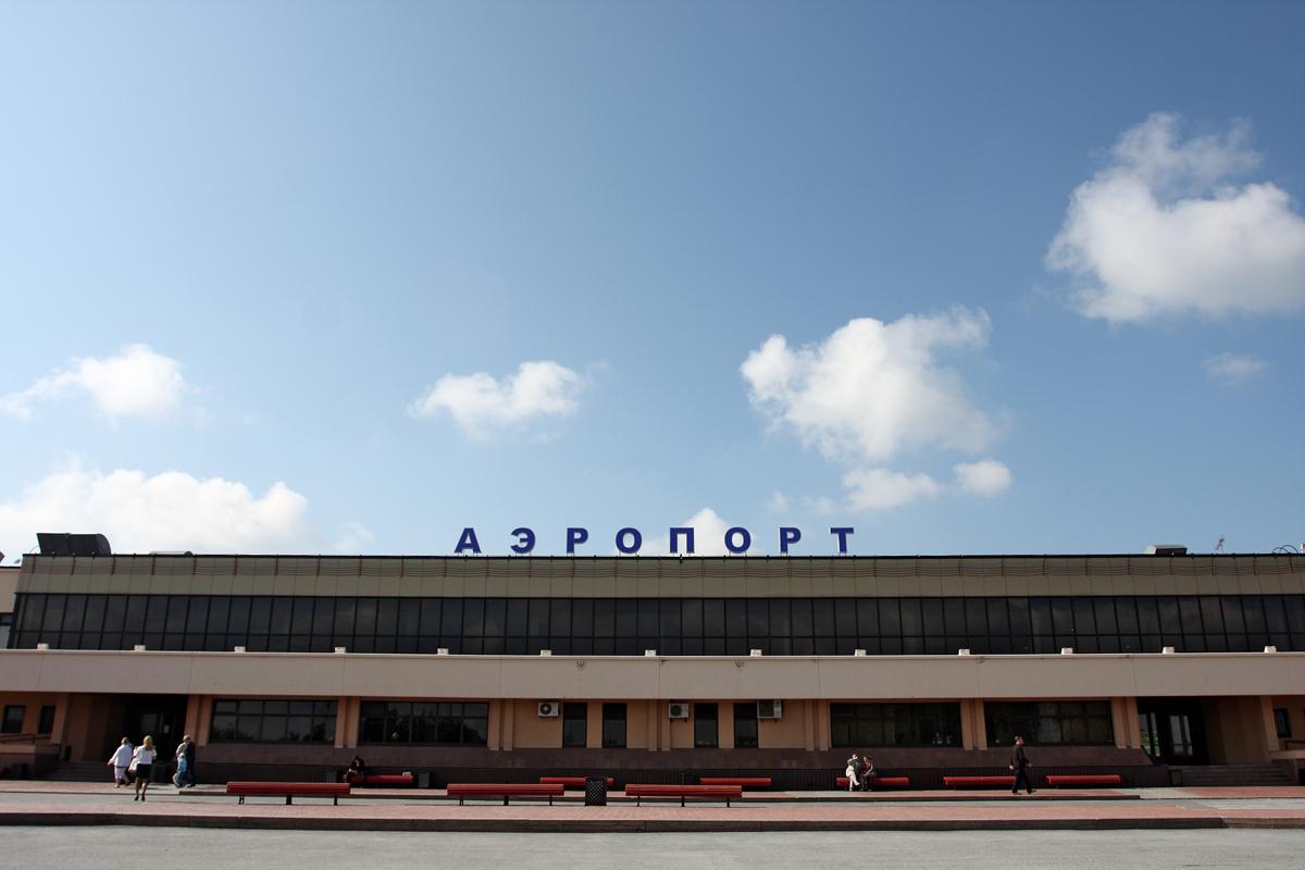Аэровокзал аэропорта Тюмень Рощино