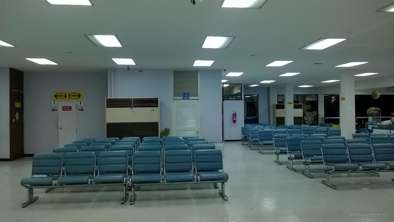 Зал ожидания в аэропорту Утапао