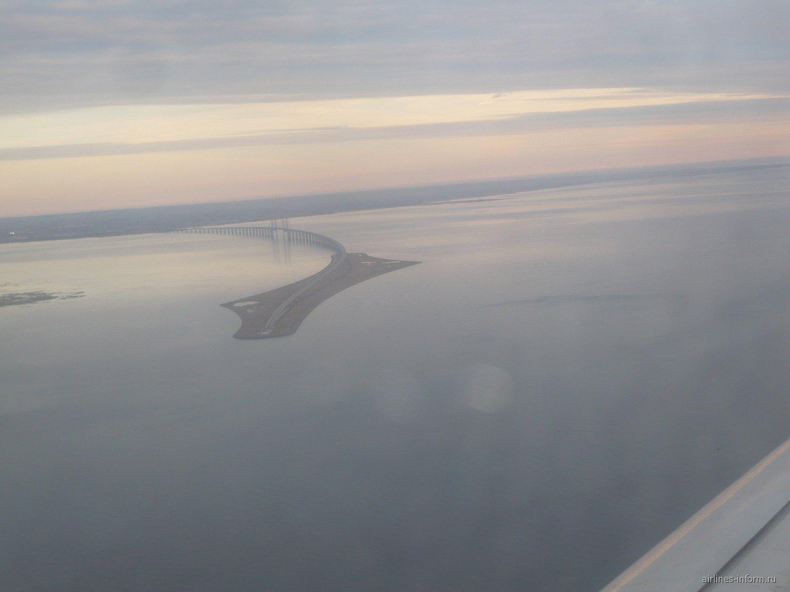 Эресуннский мост между Данией и Швецией