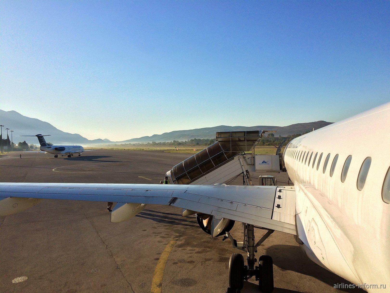 """""""Уютные Балканы"""" TIV - DME с Montenegro Airlines"""