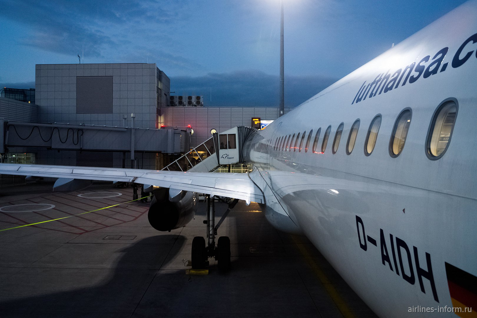 Frankfurt - Moscow LH1452 Lufthansa