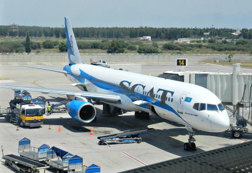 SCAT Astana-Antalya-Astana