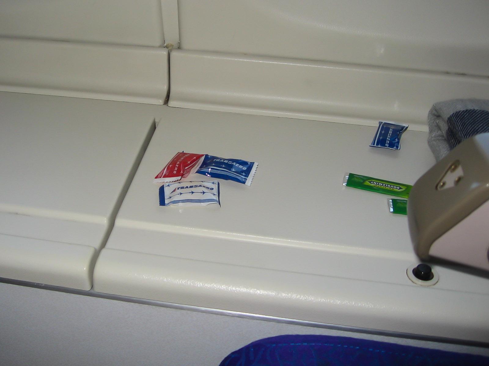 В самолете Боинг-747-400 EI-XLD авиакомпании Трансаэро
