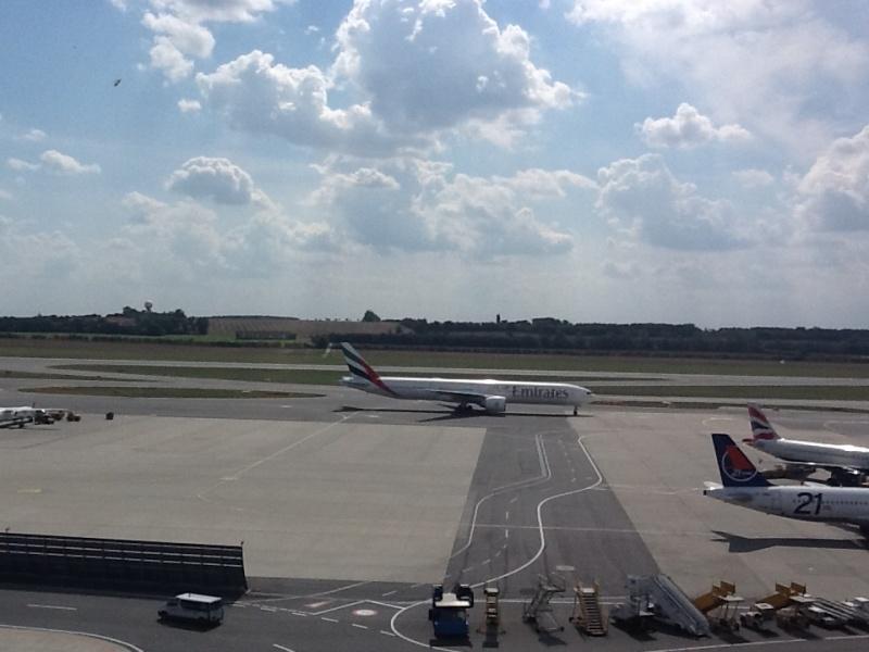 В аэропорту Вена