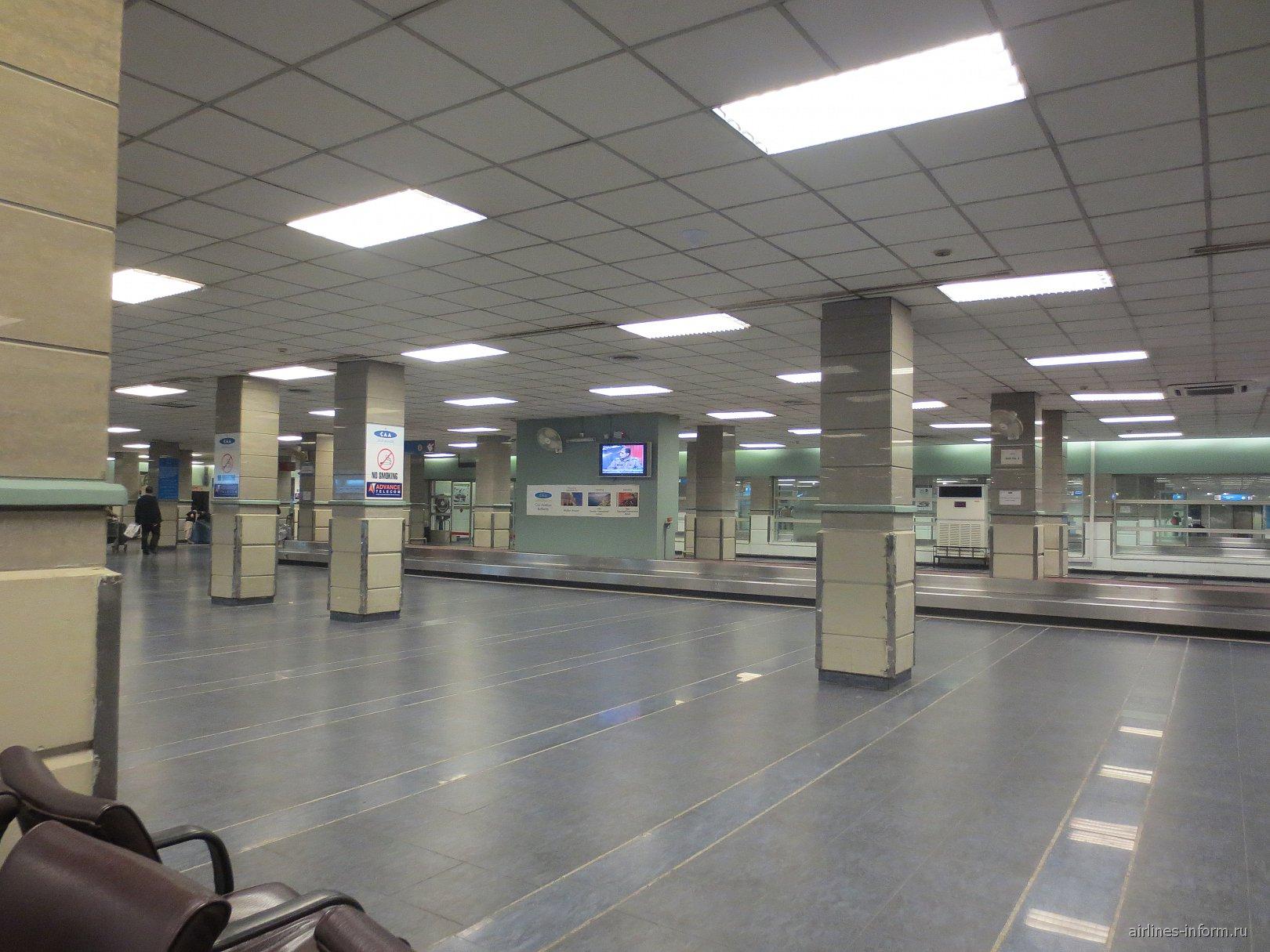 Зал выдачи багажа в аэропорту Исламабад имени Беназир Бхутто