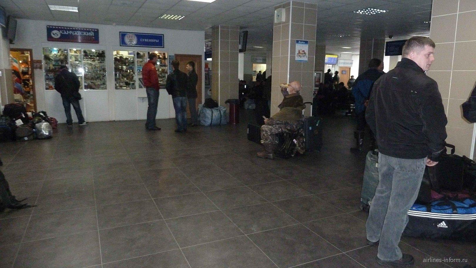 В аэропорту Елизово Петропавловска-Камчатского