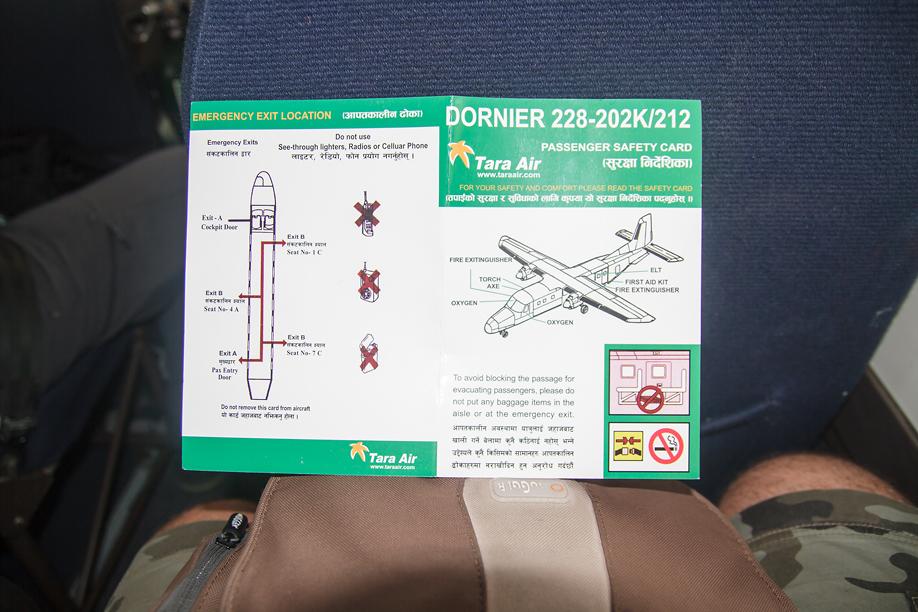 Самолет Dornier 228 авиакомпании Tara Air