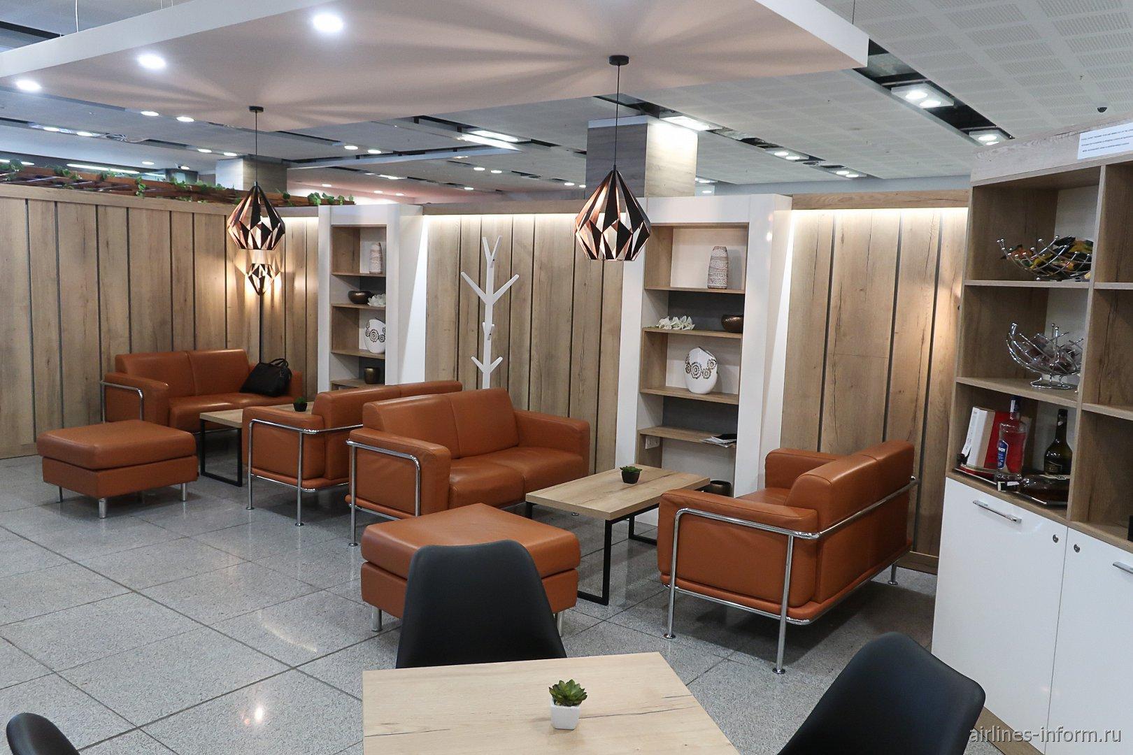 В бизнес-зале аэропорта Бургас