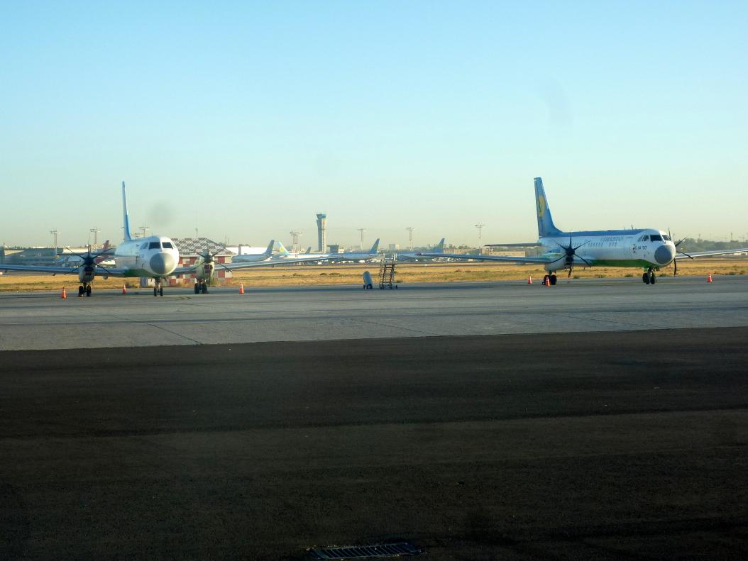 Ил-114 Узбекских авиалиний