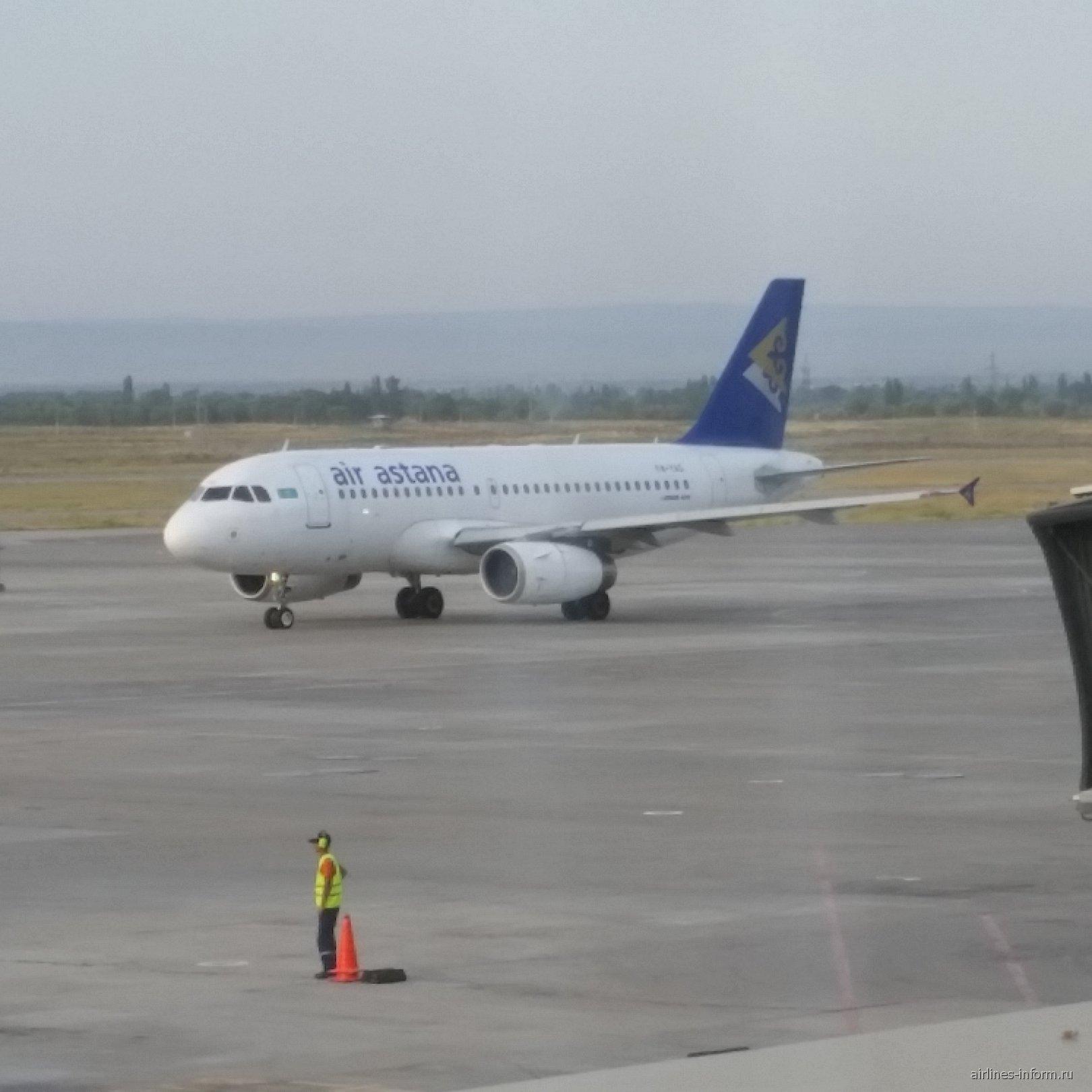 Airbus A319 авиакомпании Air Astana