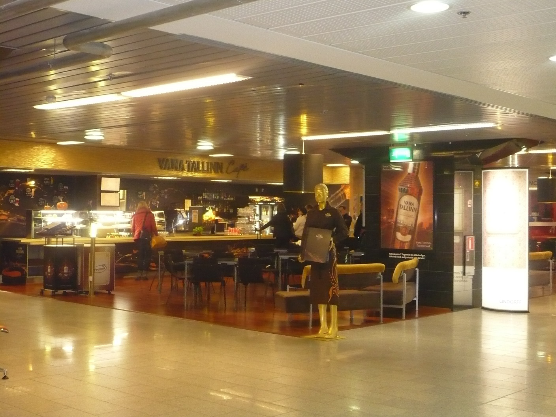 В аэропорту Таллинна