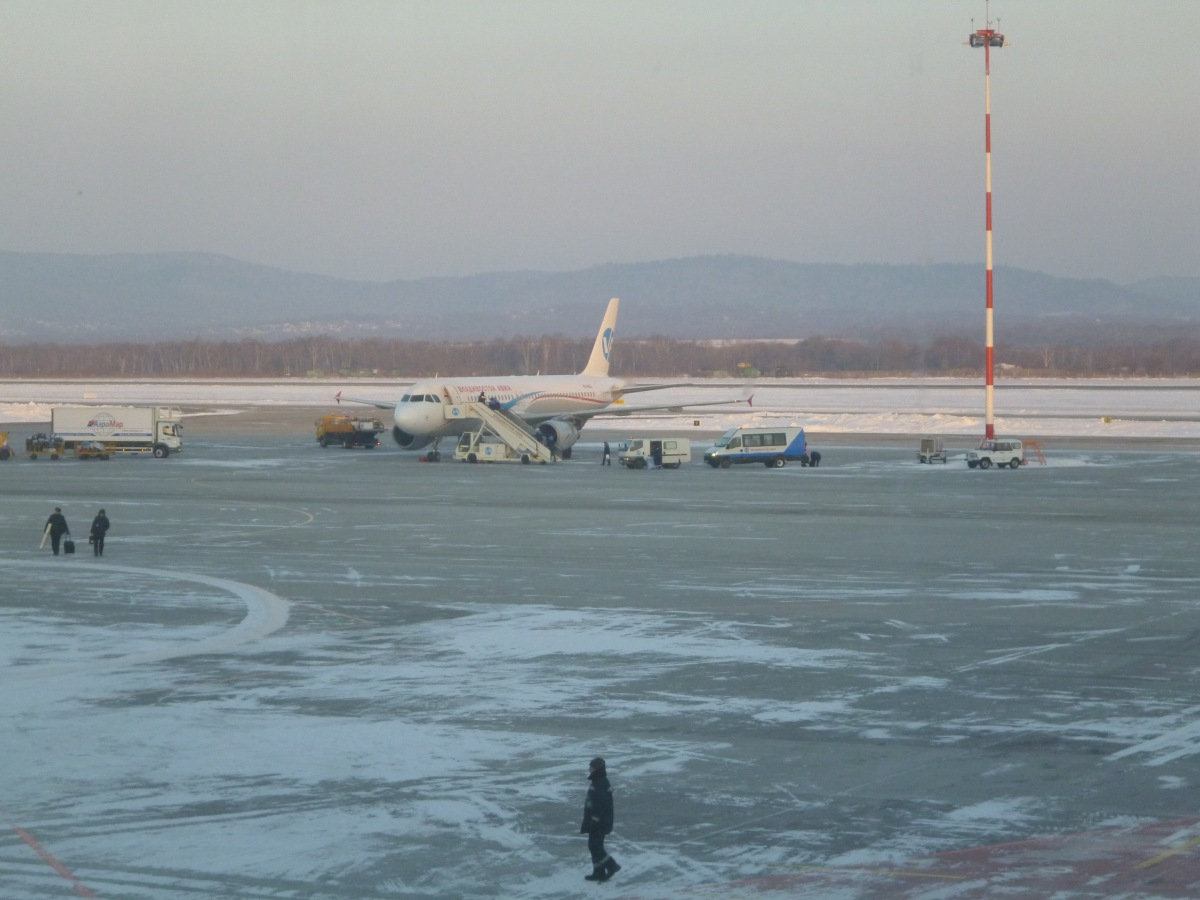 Airbus A320 of Vladivostok Air