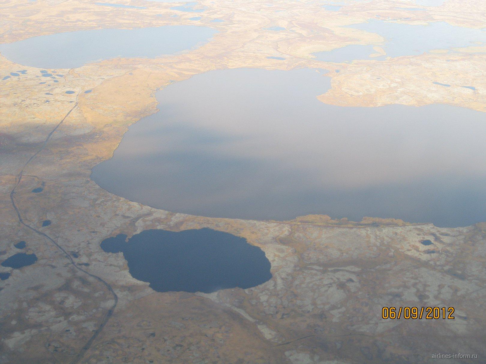 Озера полуострова Ямал