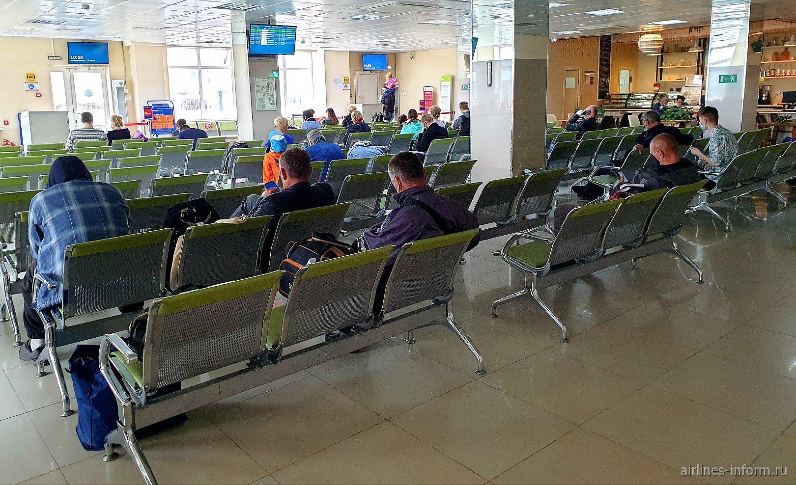 Накопитель в аэропорту Южно-Сахалинска