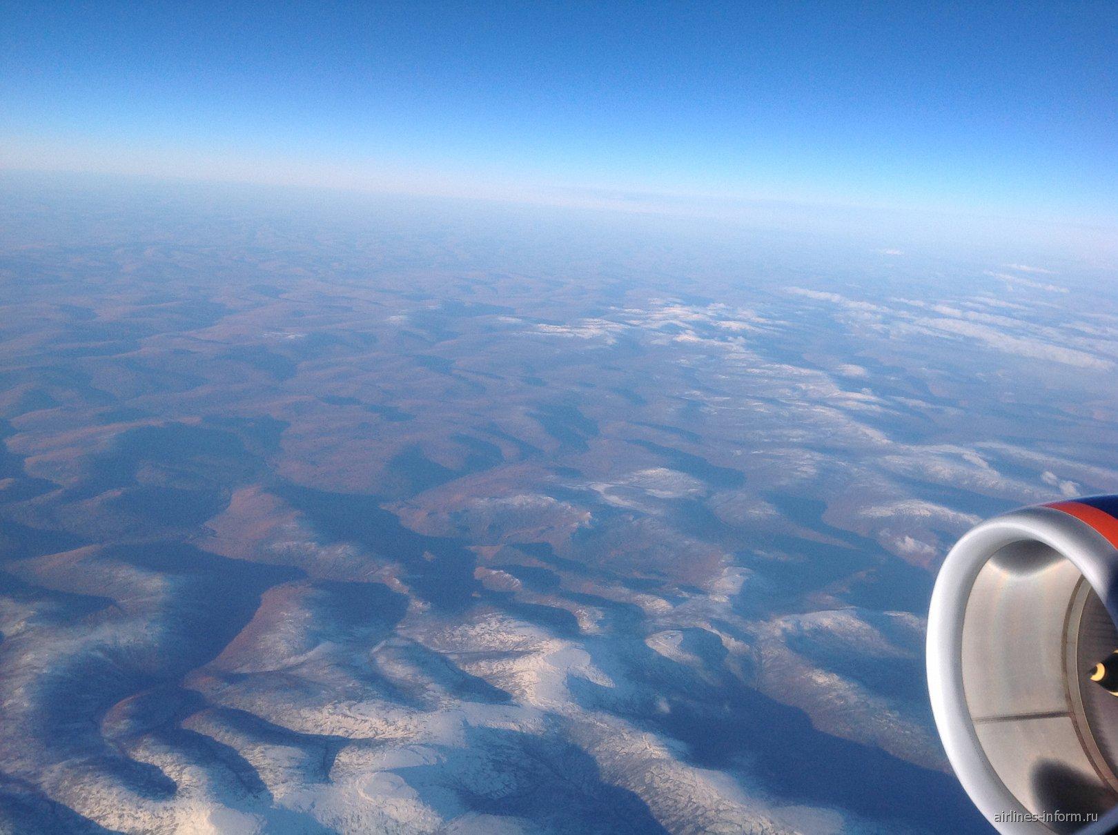 Рейс Аэрофлота Москва-Владивосток