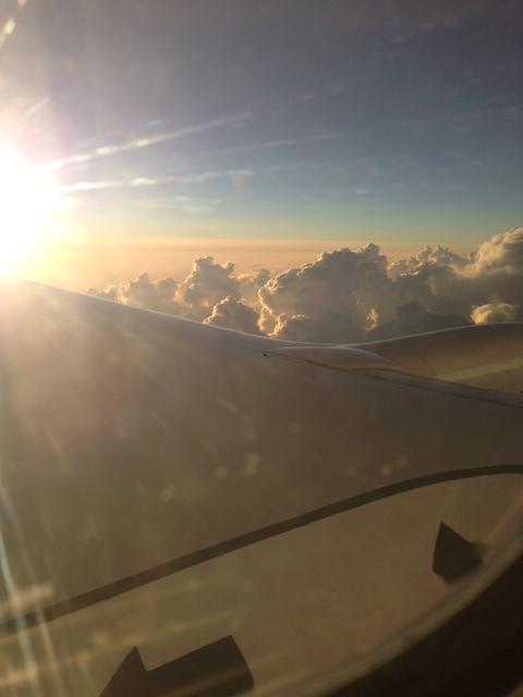Рейс Родос-Москва авиакомпании Трансаэро