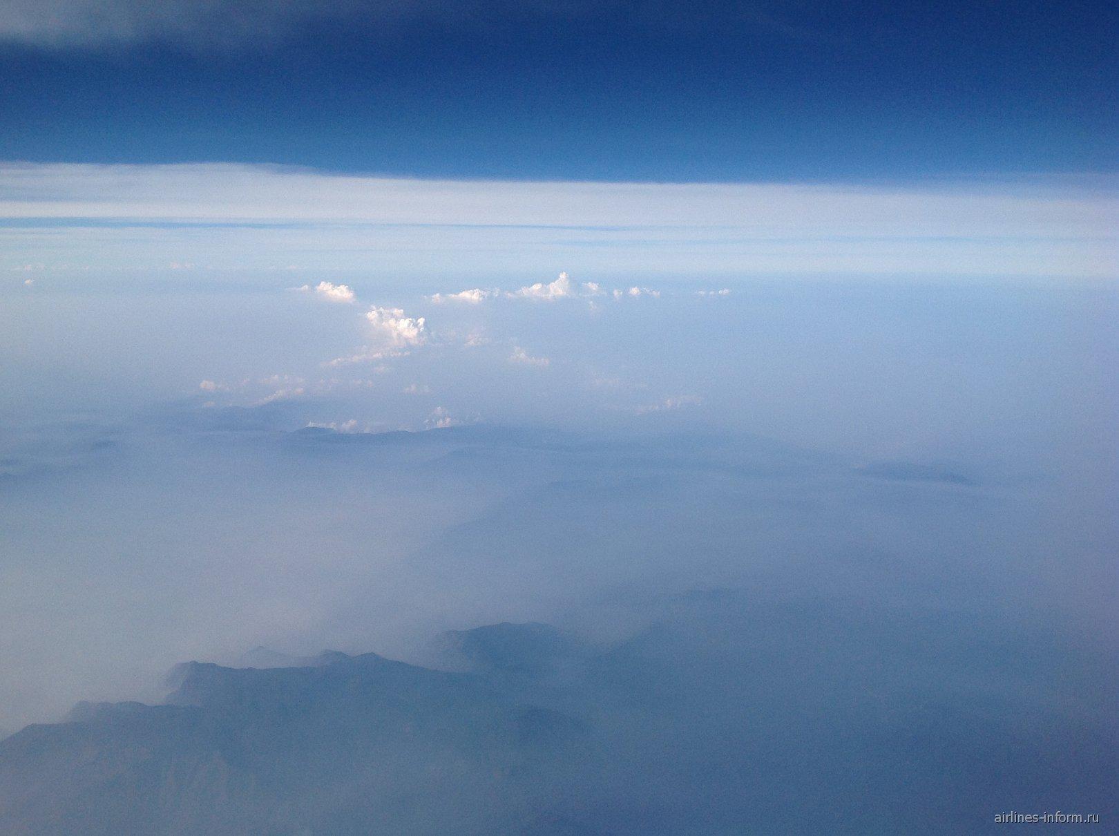 Облака над Камбоджей