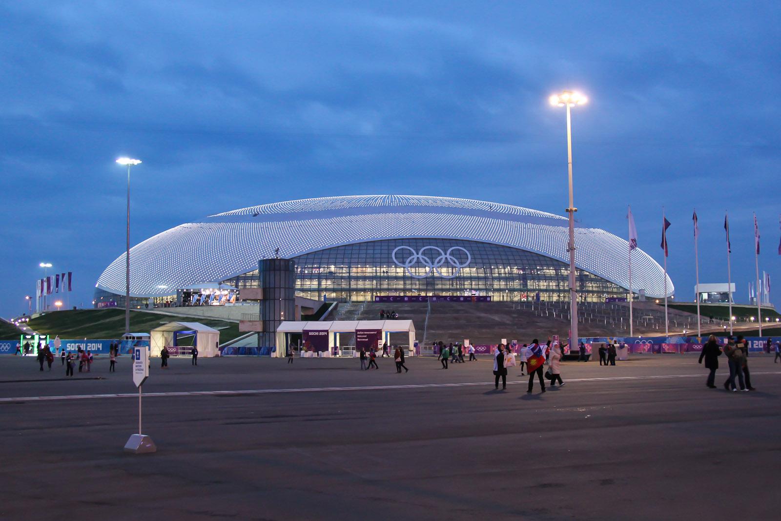 Большой ледовый дворец Сочи-2014