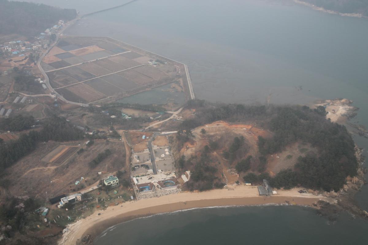 В полете над Кореей