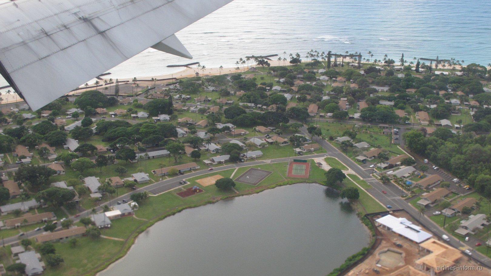 Жилой район в Гонолулу рядом с аэропортом