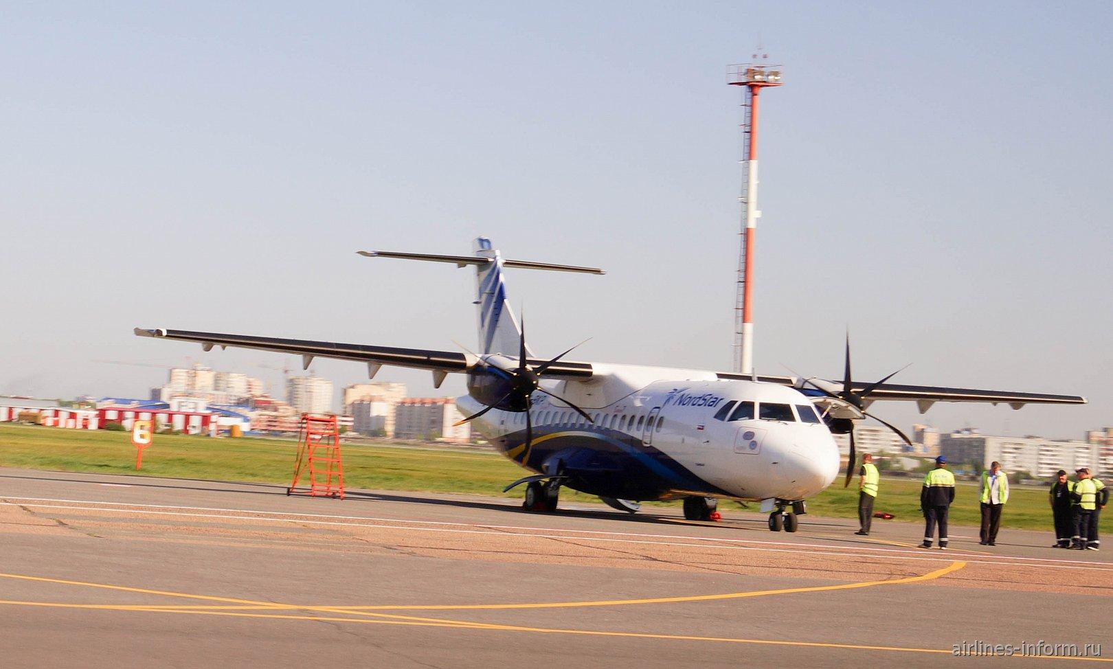 Омск-Екатеринбург, Nordstar (Таймыр), ATR 42-500, VQ-BKP